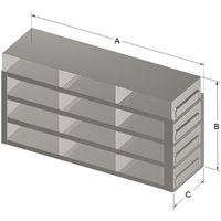 Upright Slidefor 100-Cell Hinged Top Box