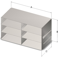 Upright Drawer, 100-Cell Hinged, 6 Box Cap
