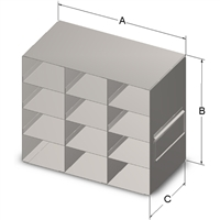 Upright Drawer, 50-Cell Hinged Top Box