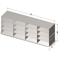 Upright Drawer, 100-Cell Hinged Top Box