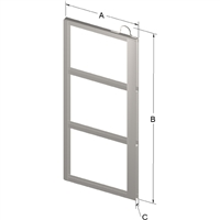3-PLACE FRAME FOR ZC022 CANISTER
