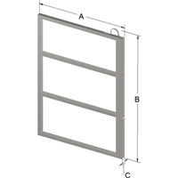 3-PLACE FRAME FOR ZC023 CANISTER