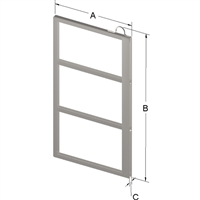 3-PLACE FRAME FOR ZC025 CANISTER