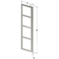 4-PLACE FRAME FOR ZC021 CANISTER