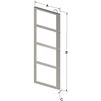 4-PLACE FRAME FOR ZC022 CANISTER