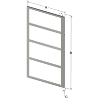 4-PLACE FRAME FOR ZC023 CANISTER