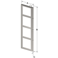 4-PLACE FRAME FOR ZC024 CANISTER
