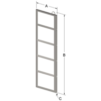 5-PLACE FRAME FOR ZC022 CANISTER