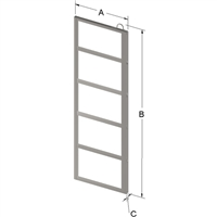 5-PLACE FRAME FOR ZC025 CANISTER
