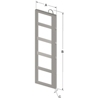 5-PLACE FRAME FOR ZC060 CANISTER