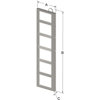 6-PLACE FRAME FOR ZC060 CANISTER