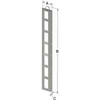 7-PLACE FRAME FOR ZC020 CANISTER