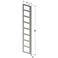 8-PLACE FRAME FOR ZC060 CANISTER