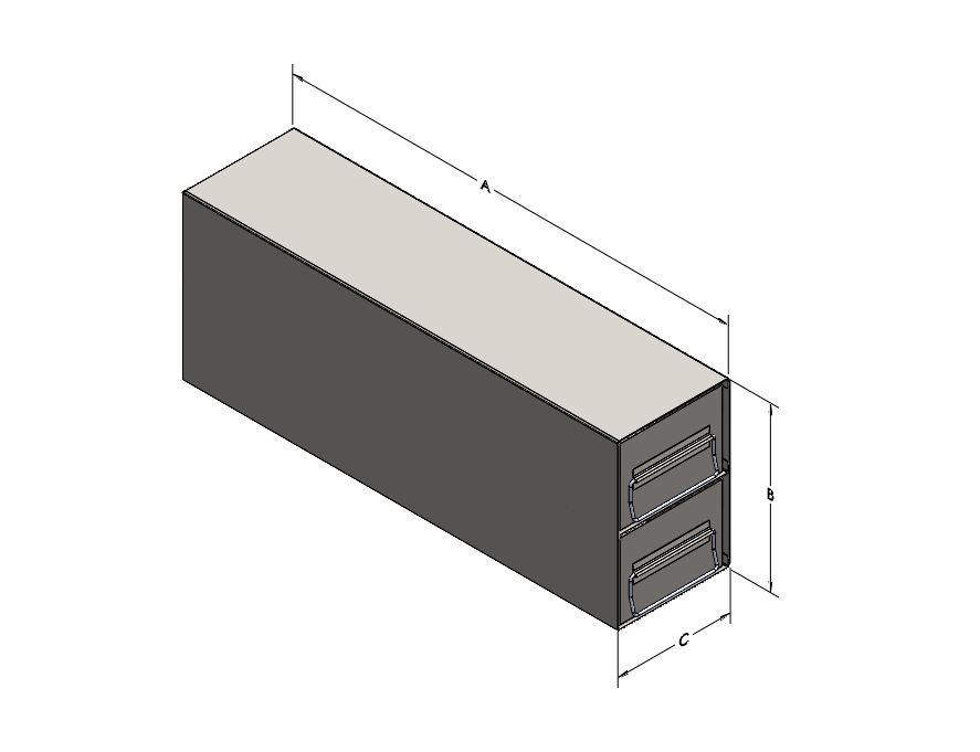 Organizer, Single-Drawer, for Miscellaneous Cold Storage